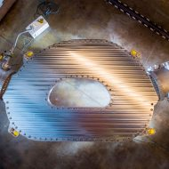 Aperçu d'un tokamak dans un réacteur nucléaire.