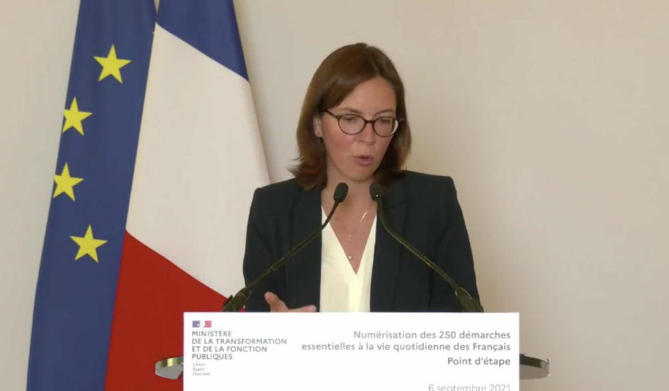 Aperçu d'Amélie de Montchalin.