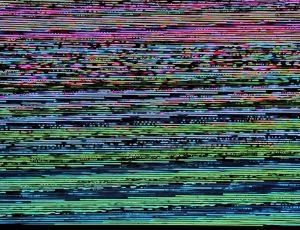 écran brouillé par un malware