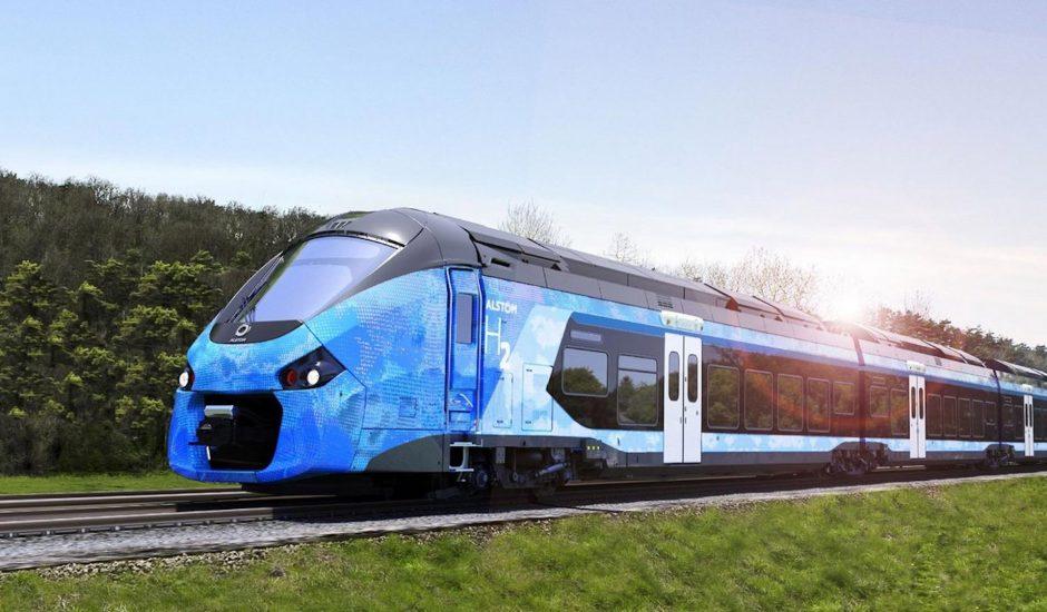 Aperçu d'un train Alstom.