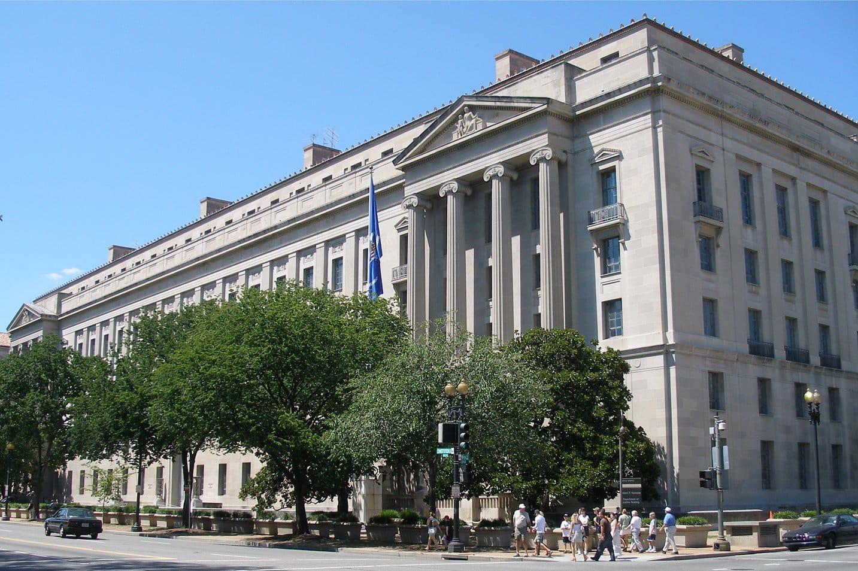 Ministère de la justice aux Etats-Unis