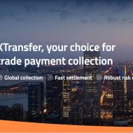 page d'accueil du site de XTransfer