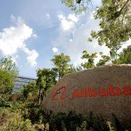 L'entrée des bureaux d'Alibaba.