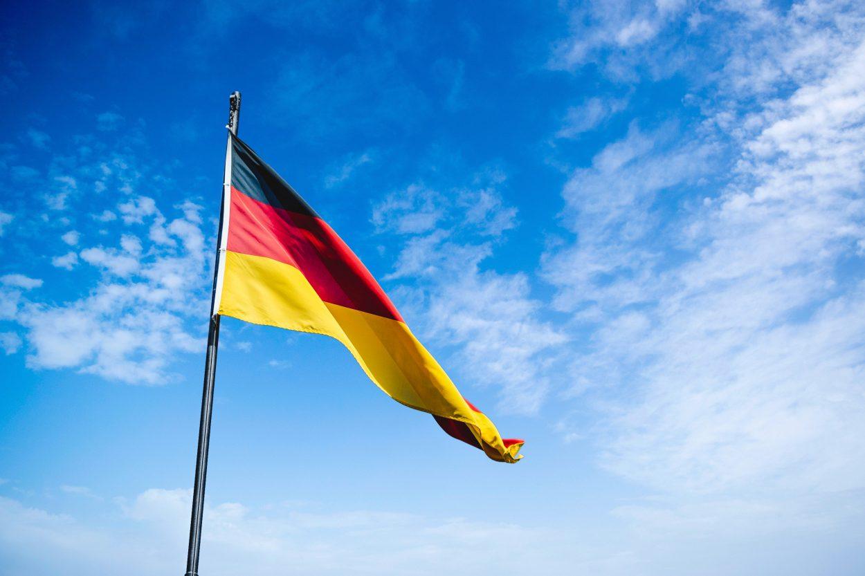 Un drapeau allemand.