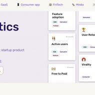 page d'accueil du site AnalyticsPack