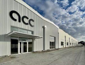Façade du centre de recherche et développement d'ACC