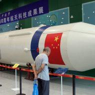 Une fusée chinoise.
