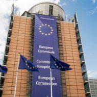 Fronton du bâtiment de la Commission européenne