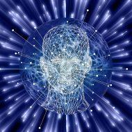 Illustration d'une intelligence artificielle en train de penser.