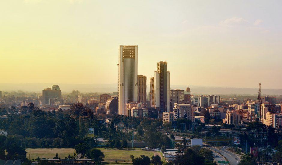 Nairobi au lever du soleil