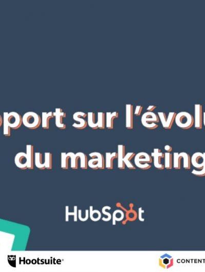 rapport sur l'évolution du marketing en 2021
