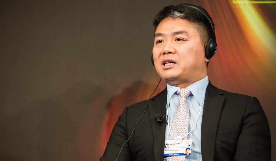 le fondateur de JD.com, Richard Liu