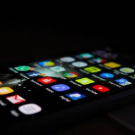 l'écran d'un smartphone