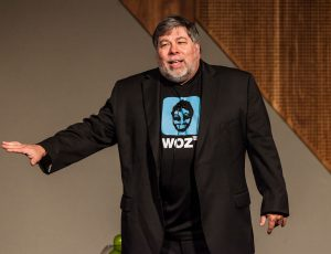 Steve Wozniak en 2021.