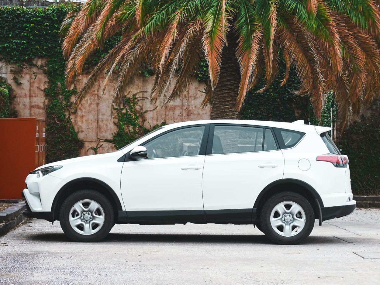 Une Toyota Prius.