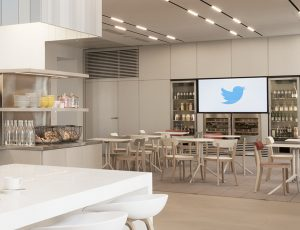 Les bureaux de Twitter