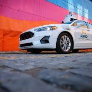 Une voiture Ford équipée de la technologie Argo.