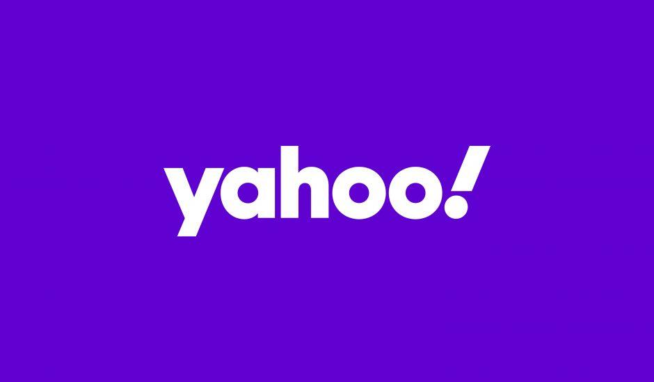 Le logo de Yahoo.