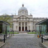 Siège du gouvernement irlandais, à Dublin.