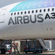 Un Airbus A350