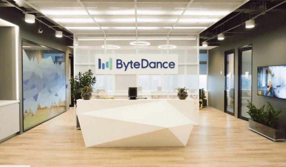 Bureaux de ByteDance, société mère de Tiktok, à Sao Paulo, au Brésil.