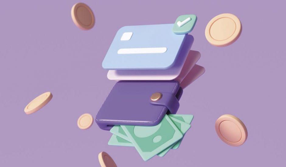 Différents moyens de paiement : carte bleue, espèces.
