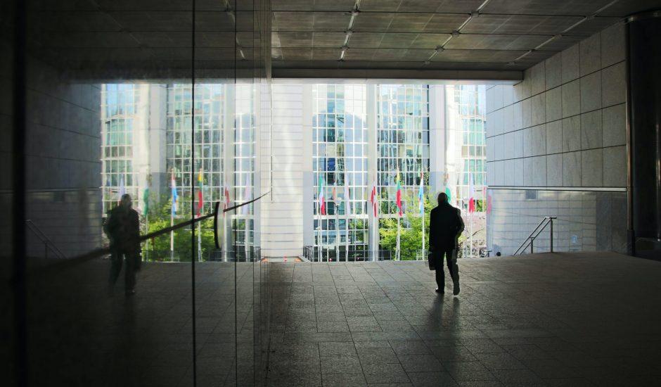 Aperçu de la Commission européenne à Bruxelles.