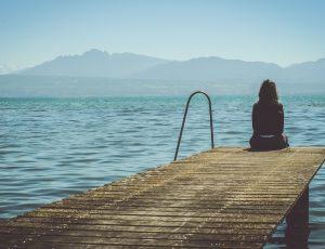 Aperçu d'une personne en dépression.