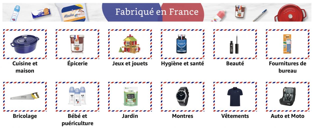 Amazon lance la boutique « Fabriqué en France »
