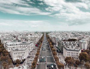 Aperçu de la ville de Paris.