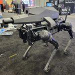 Aperçu du robot-chien à usage militaire.