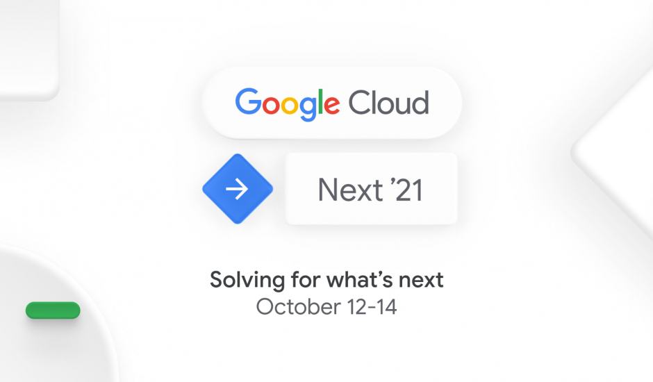 Logo du Google Cloud Next '21