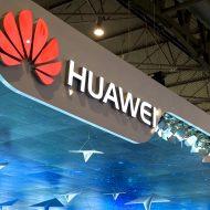 Logo de l'entreprise chinoise de télécommunication Huawei