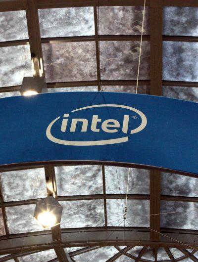 Logo d'Intel.