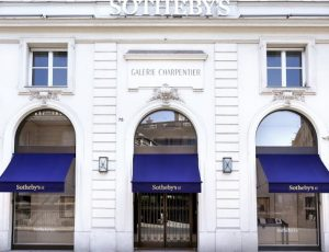 devanture d'un Sotheby's