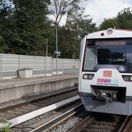 """Un train autonome de type """"S-Bahn"""" de la Deutsche Bahn"""