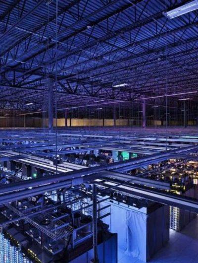 Un centre de données de Google. Image : Google