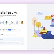 Présentation Doodle Ipsum