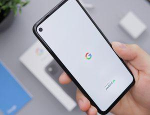 Un smartphone Pixel de Google.
