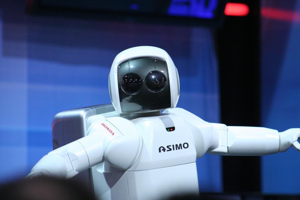 Le robot Asimo de Honda.
