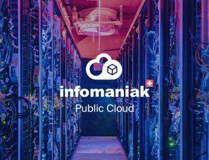 Logo de l'offre d'hébergement cloud d'Infomaniak, Public Cloud