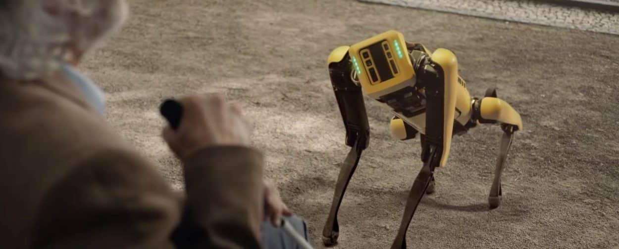 Aperçu du robot spot de Boston Dynamics