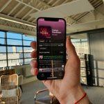 Un téléphone affichant le podcast Culture Numérique sur Spotify